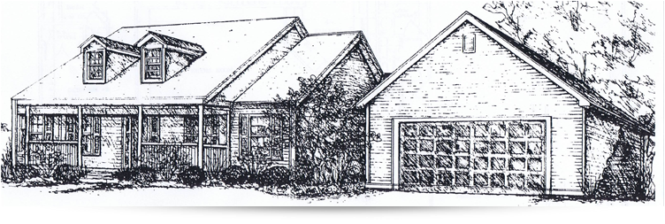 The lochmore ranch style home designed by kilbarger for New construction ranch style homes in illinois