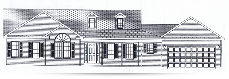 The millside ranch style home designed by kilbarger for Ranch home builders ohio