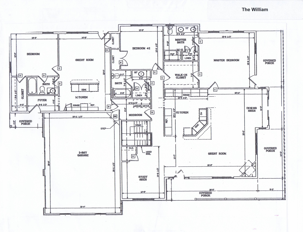 The william ranch style home designed by kilbarger for Ranch home builders ohio