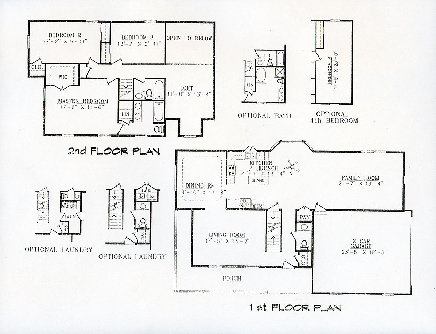 Home | Kilbarger Standard Home Plans | Styles: Two Story Homes: The ...